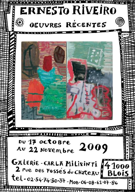 affiche carla milivinti 2009